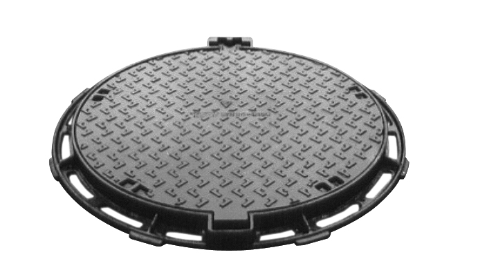 Manhole covers made of cast iron