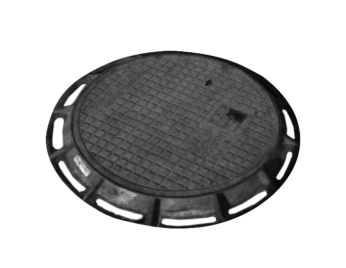 Manhole covers for heavy traffic and normal areas