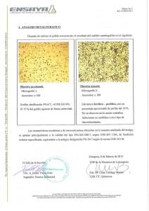 Certificado Análisis Metalografico Alreco