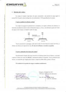 Certificación Prueba de Carga Alreco
