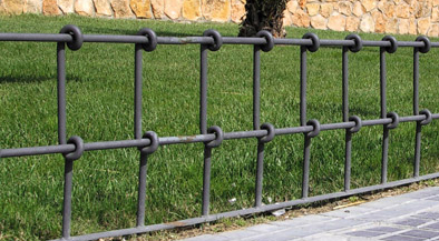 Nodular cast iron Barrier