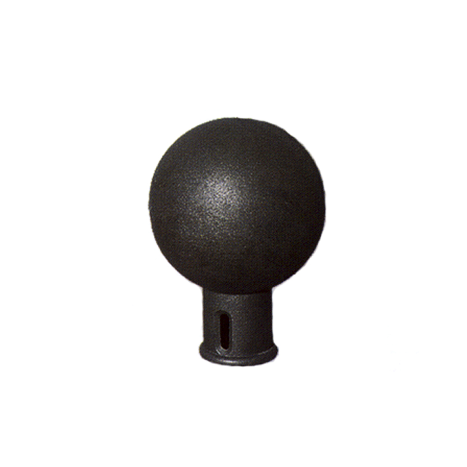 Bollard made ​​of ductile iron