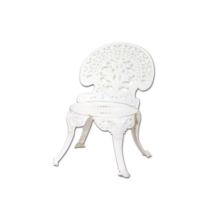 Cadeira de jardim ferro fundido