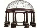 Garden Gazebo made ​​in cast