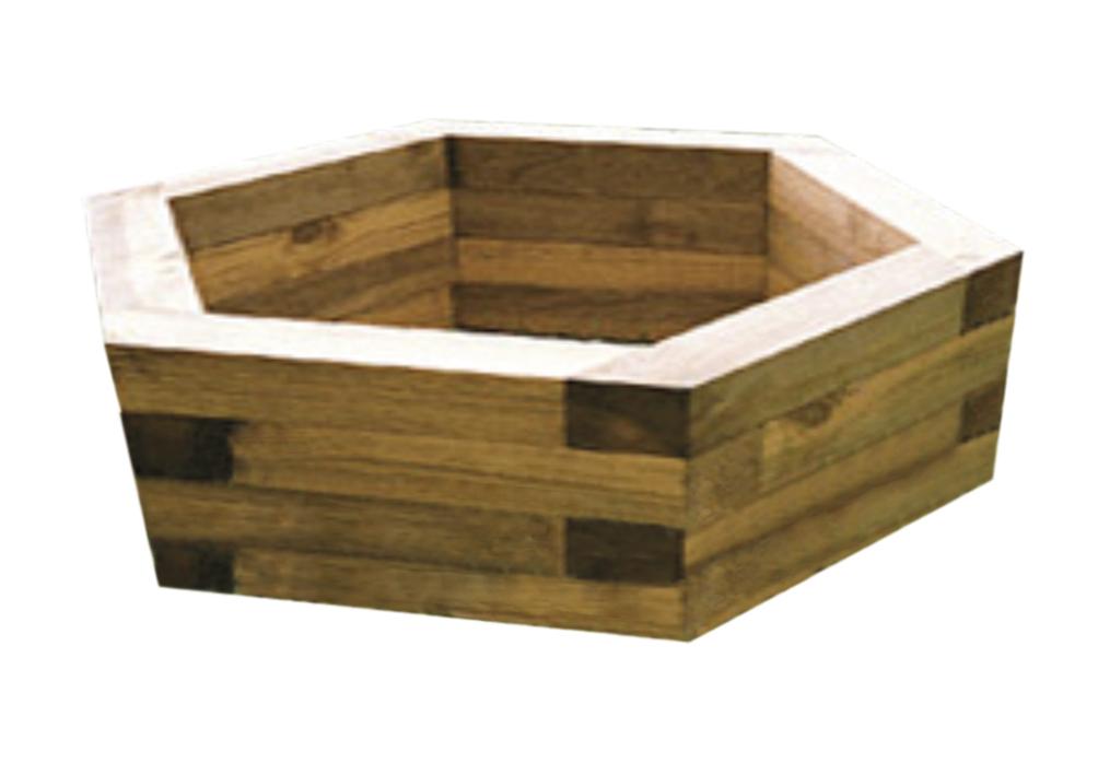 Jardinera en madera