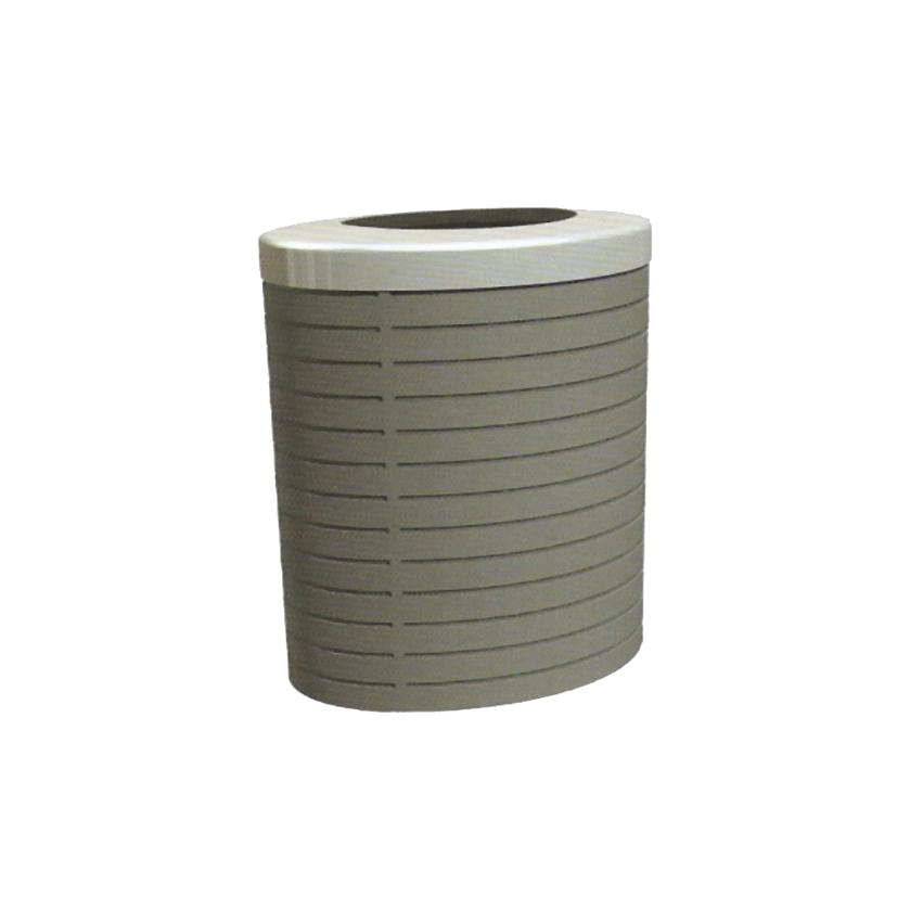 Litter Bin in galvanized steel