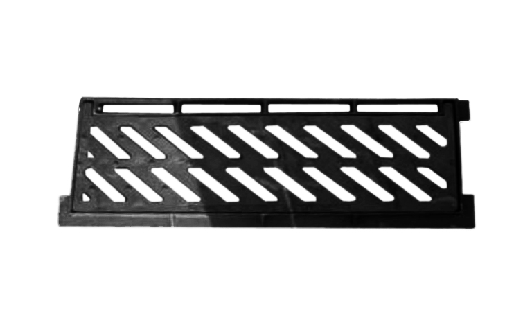 Grates for roadside and parking areas