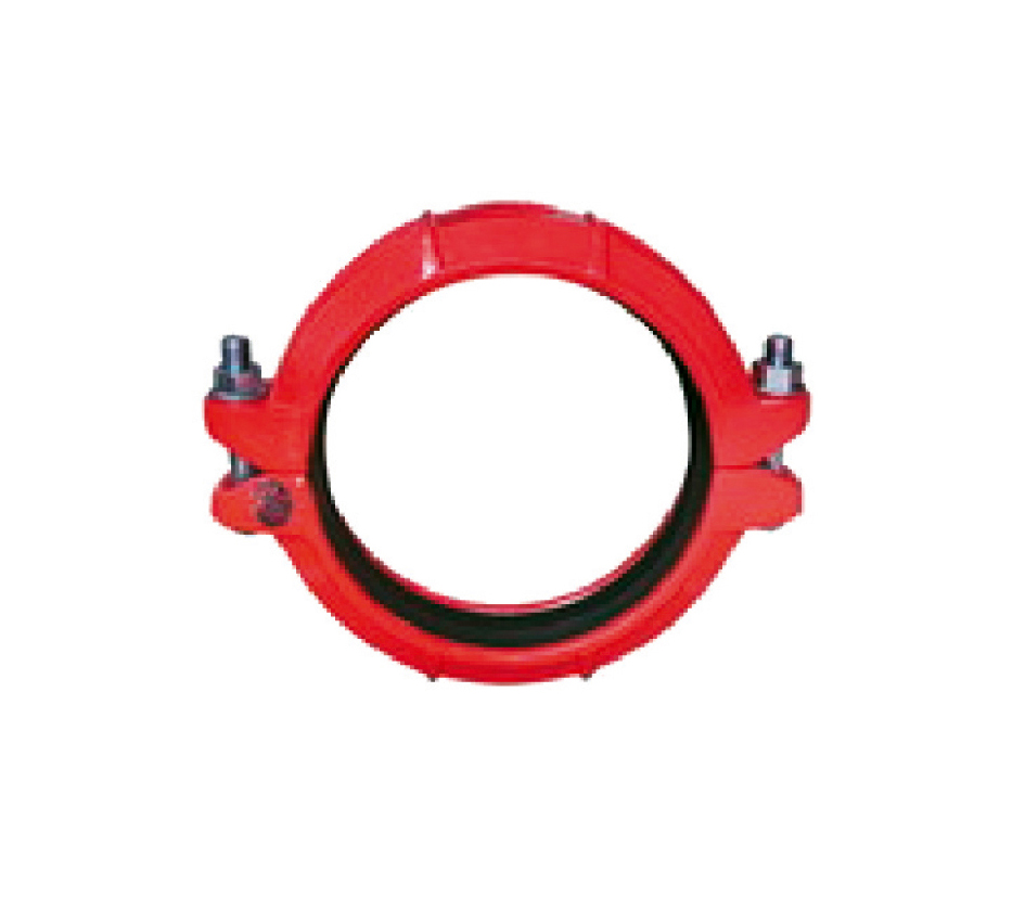 Flexible coupling made of ductile iron