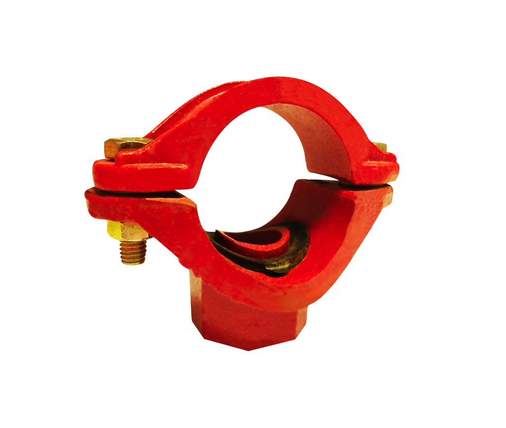 Side Outlet threaded in ductile iron