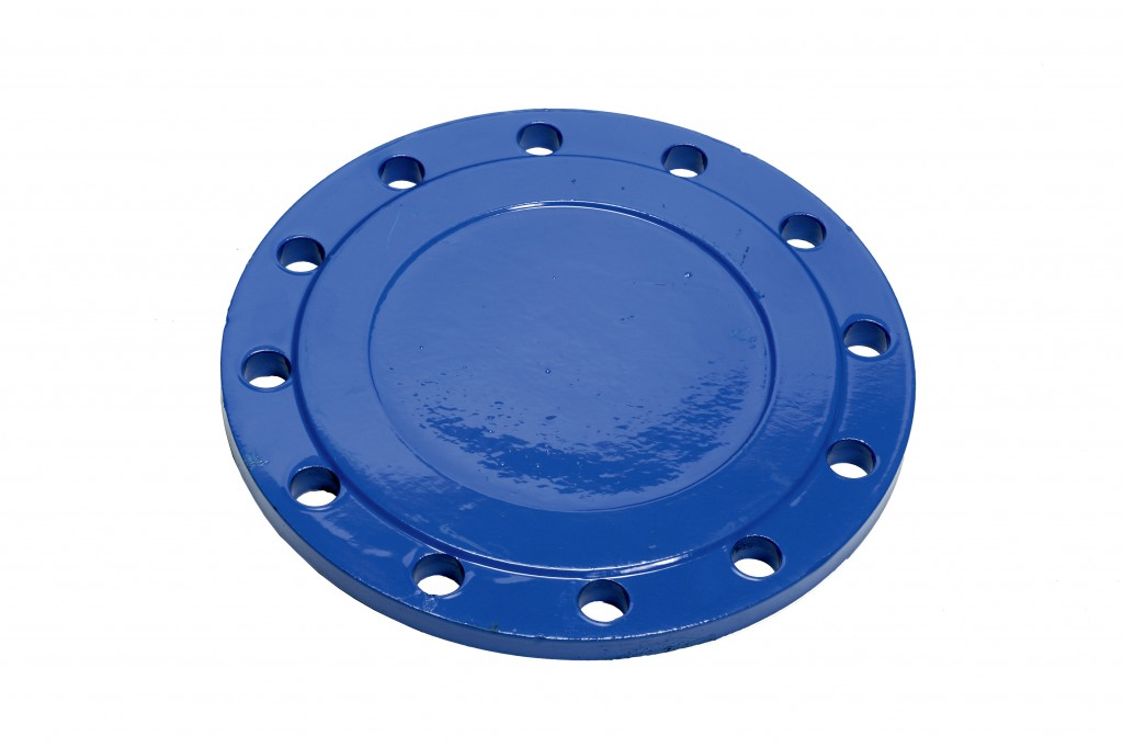 Blank flange, ductile iron pipe fitting