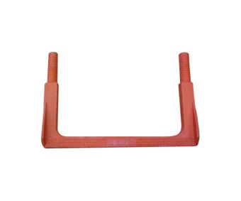 Pate recto standard en polipropileno y acero corrugado