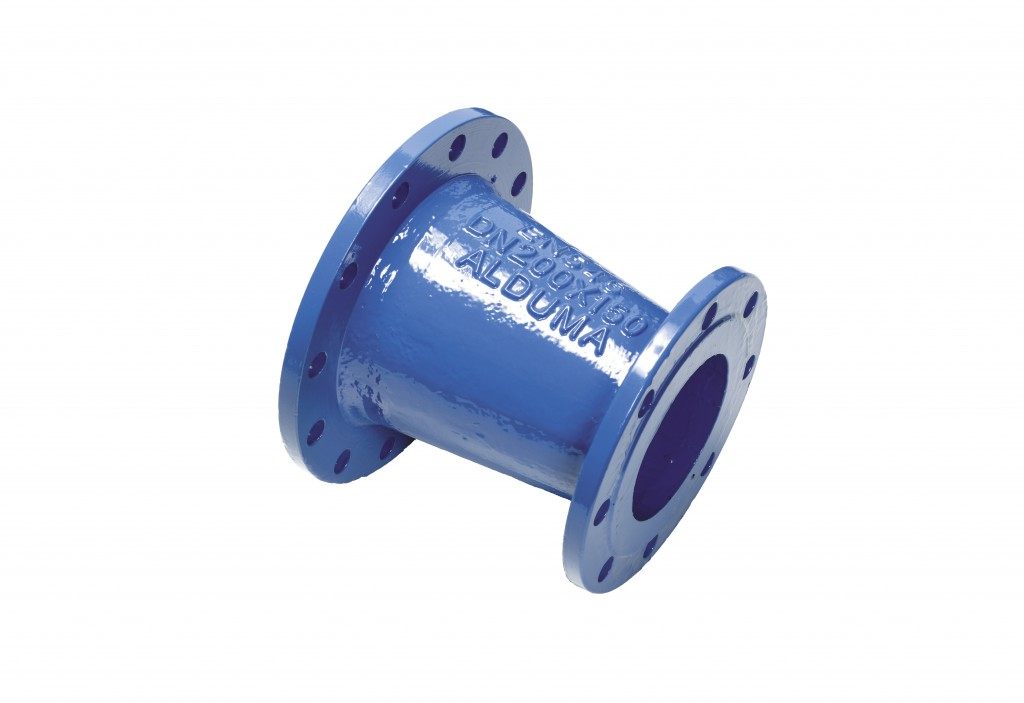 Double socket taper made of ductile iron