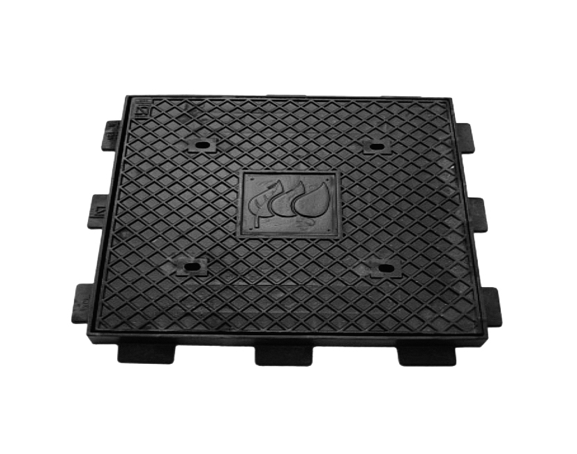 Service Manhole cover made of ductile iron