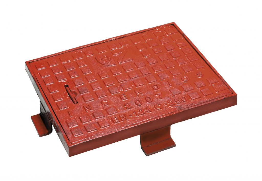 Manhole covers ductile iron fires