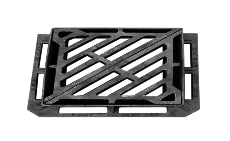 Grates for heavy traffic and normal areas