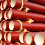 Sewerage iron pipe