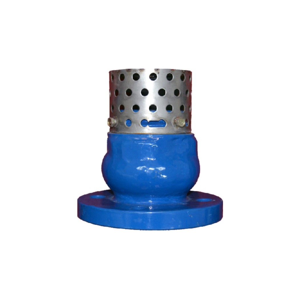 Válvula de pie hecha en fundición