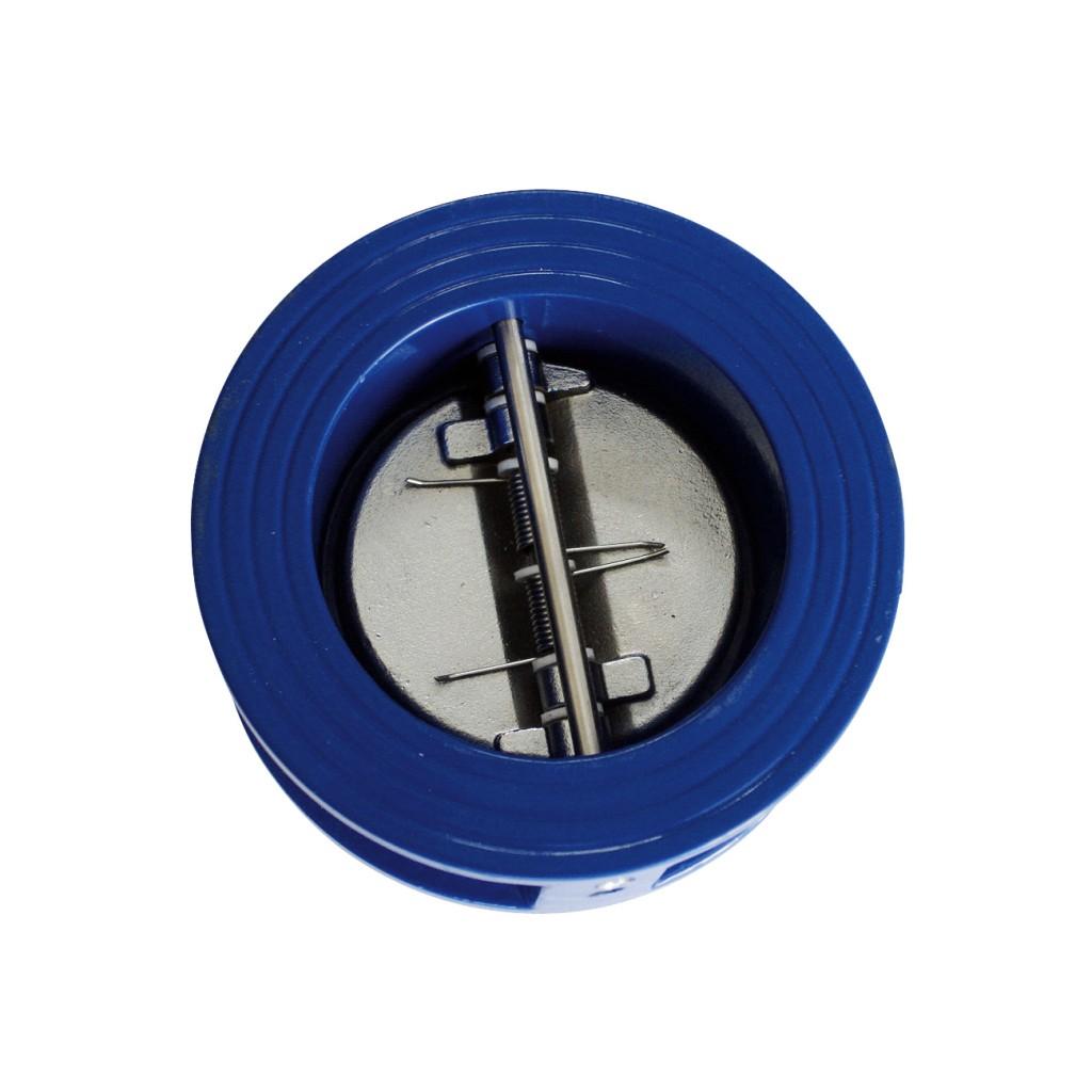 Válvula de retençã Portinhola Duplade ferro dúctil