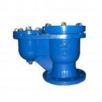 Válvula de aireación cinética doble orificio hecha de hierro fundido