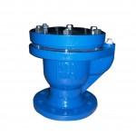 Válvula de aireación sencilla con orificio grande, fabricada en hierro fundido