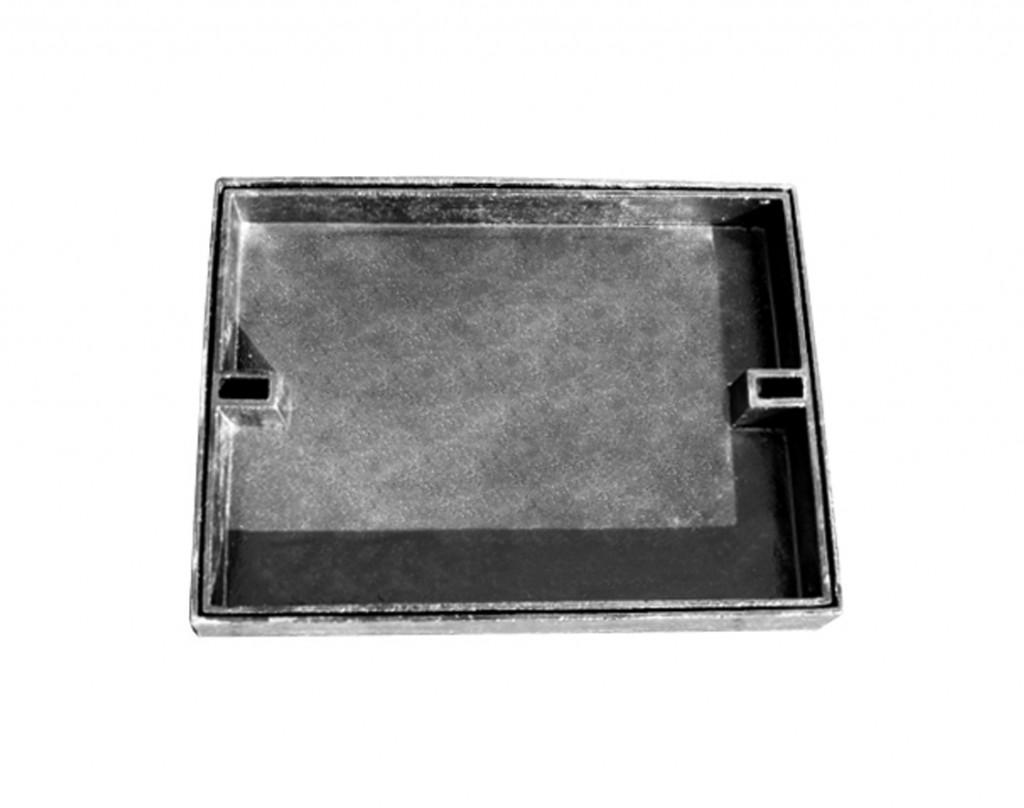 Registro rellenable para baldosas o asfalto en fundición dúctil