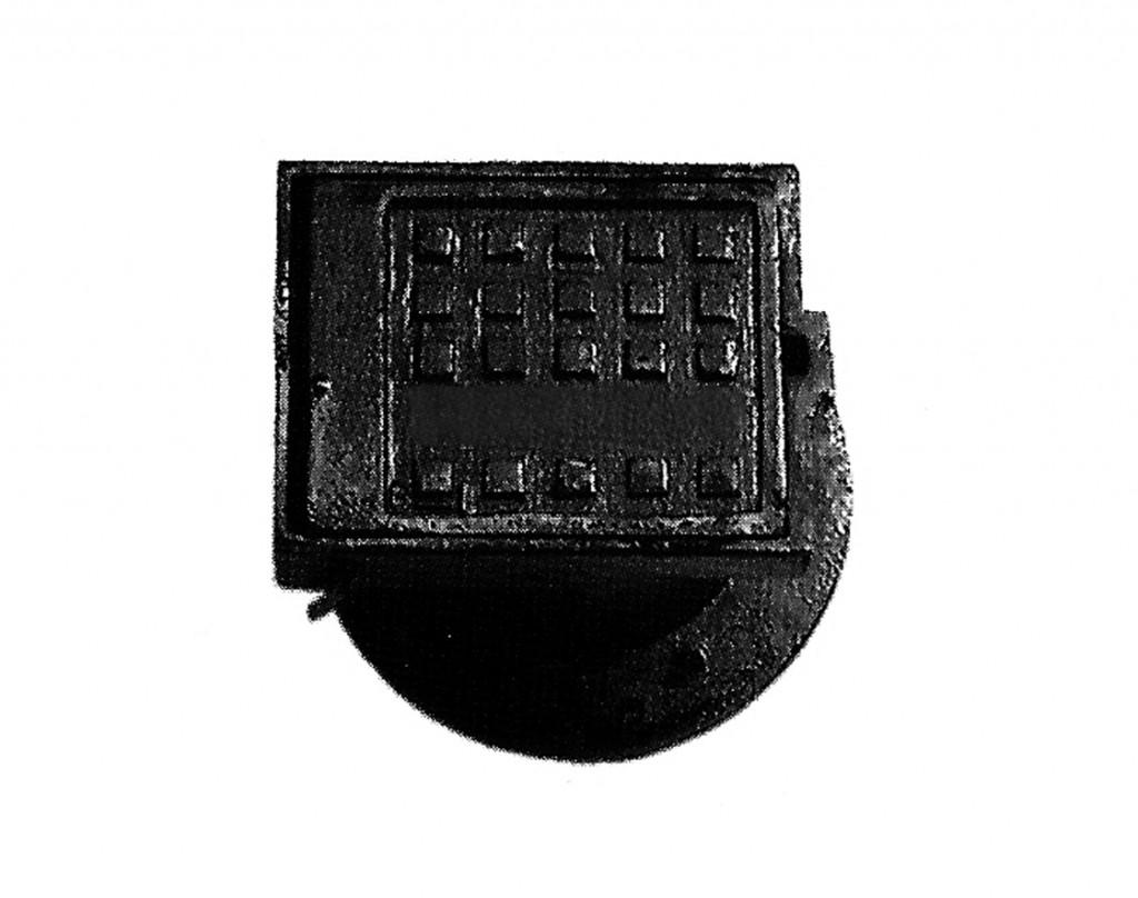 Registro para llave de paso acometidas en fundición dúctil